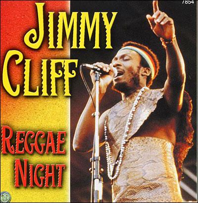 JIMMY CLIFF reggae night copertina