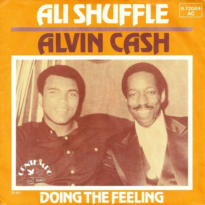 alvin cash ali shuffle copertina