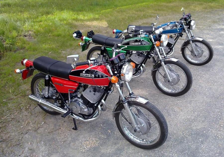 Benelli 2C 125 250 Moto D'epoca Curiosando Passato