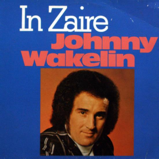 IN ZAIRE JOHNNY WAKELIN COPERTINA