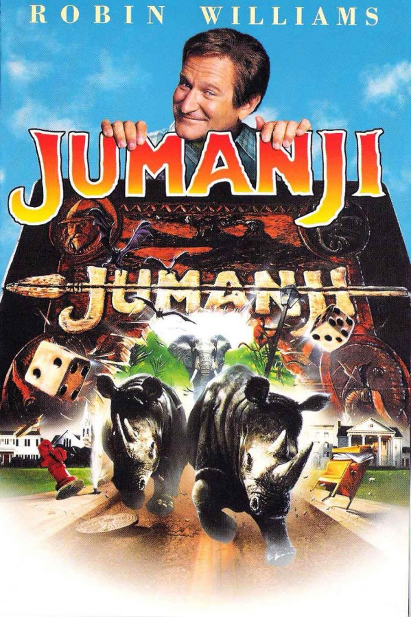 jumanji robin williams locandina