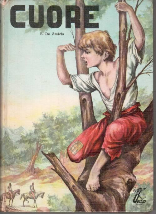 libro cuore edmondo de amicis anni 60 copertina