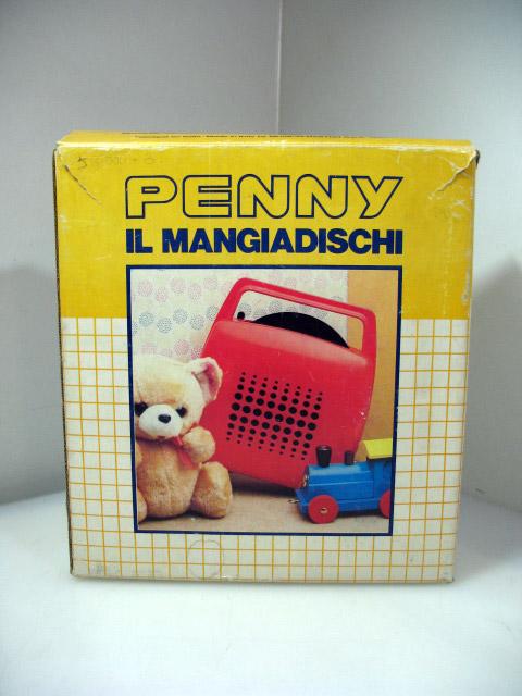 mangiadischi penny confezione vintage