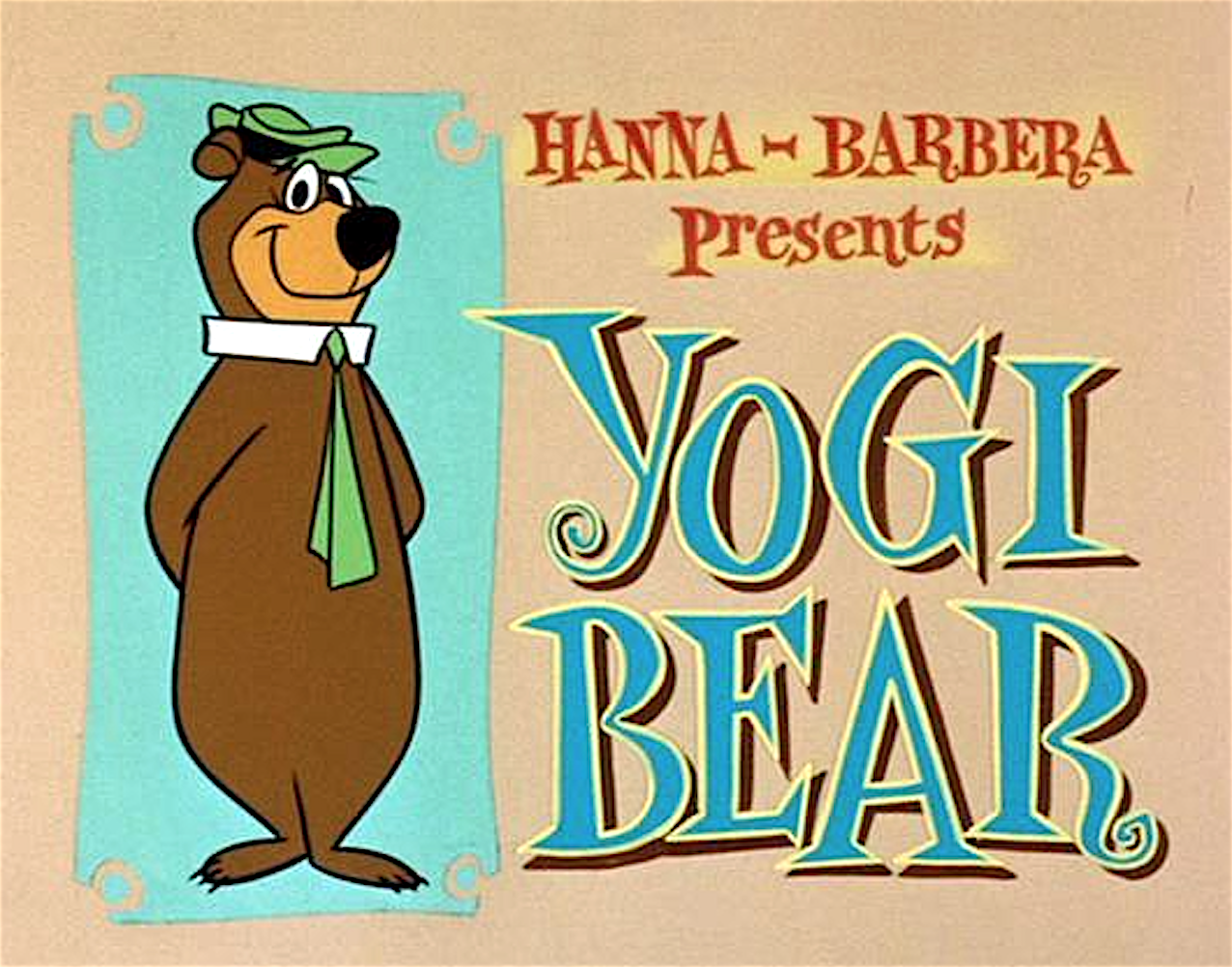 Orso yoghi cartoni animati vintage curiosando anni