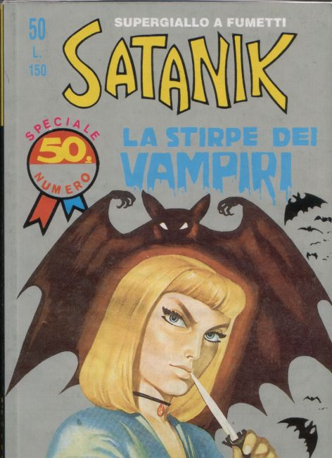 satanik numero 50 copertina