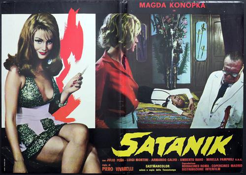 satanik locandina film