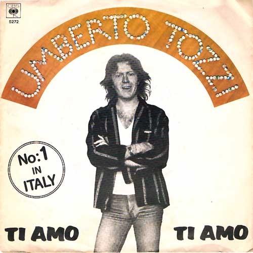 Umberto Tozzi con Ti Amo copertina