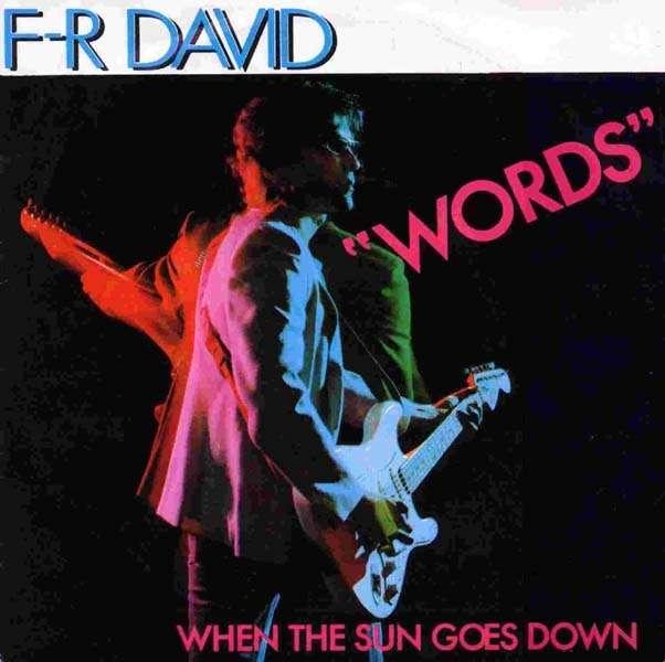 f-r david words copertina 1982