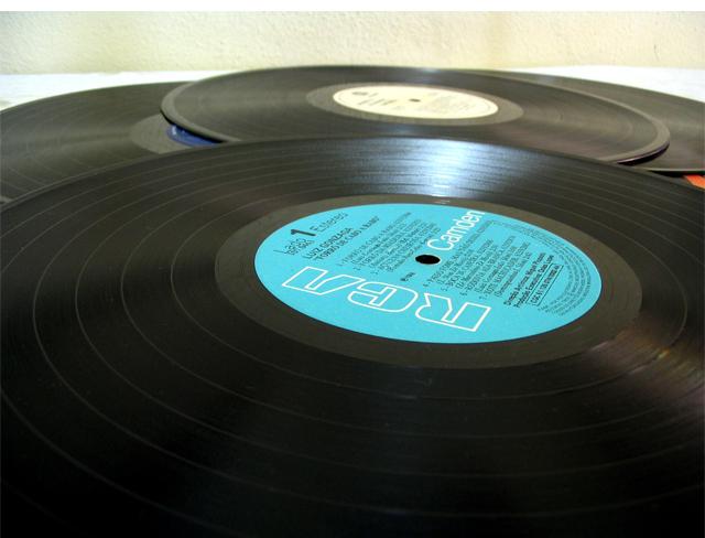 33 giri disco in vinile