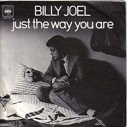 billy joel just the way you are copertina cover 45 disco