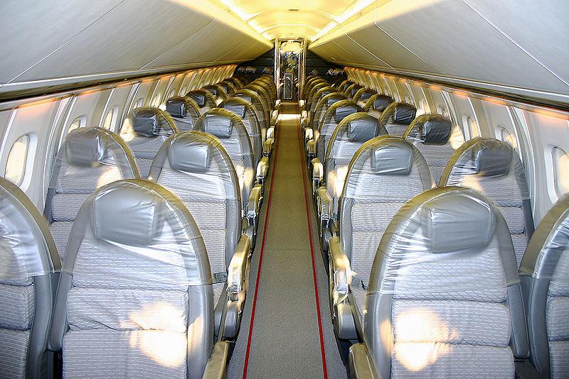 concorde aereo interni sedili