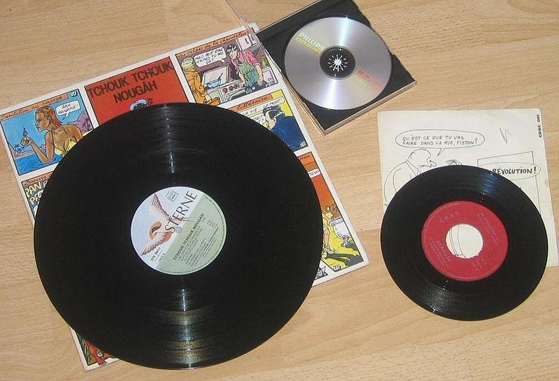 dischi in vinile tipi
