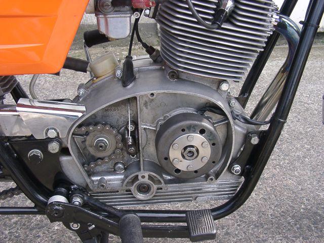 Gilera 125 Strada particolare motore