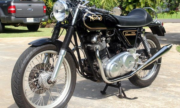 NORTON COMMANDO – (1968/1977) – Inghilterra