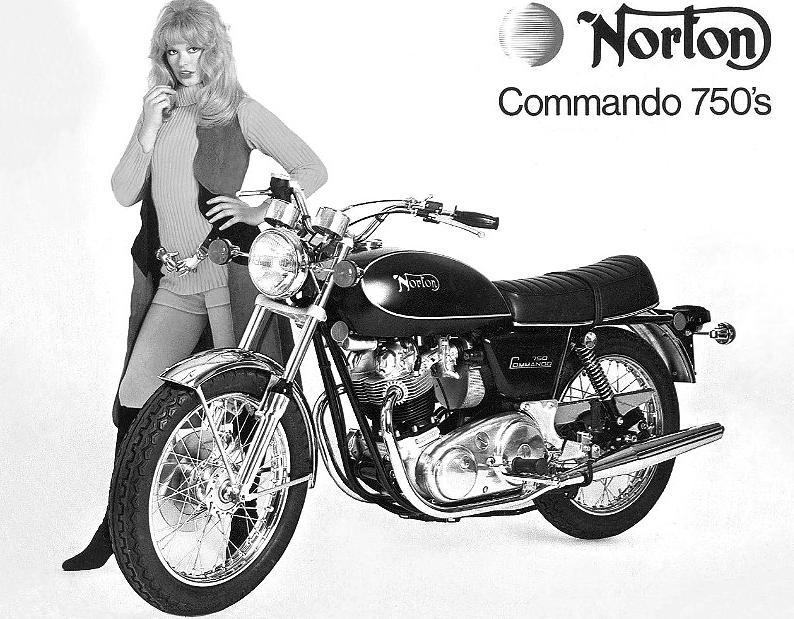 Norton Commando 750's 1973