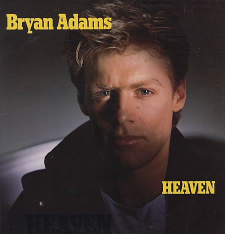 BRYAN ADAMS HEAVEN COPERTINA