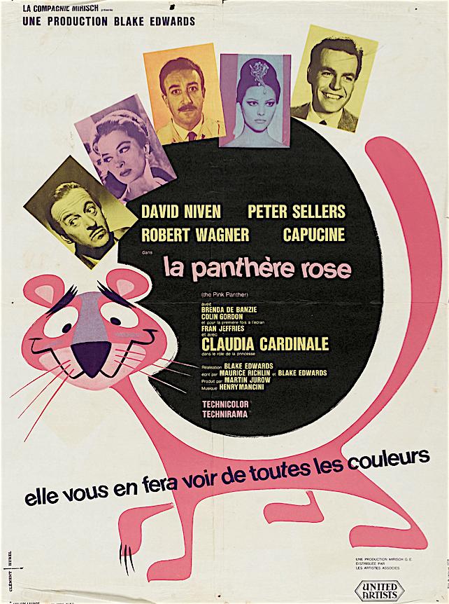 Pantera rosa cartone animato film curiosando anni e