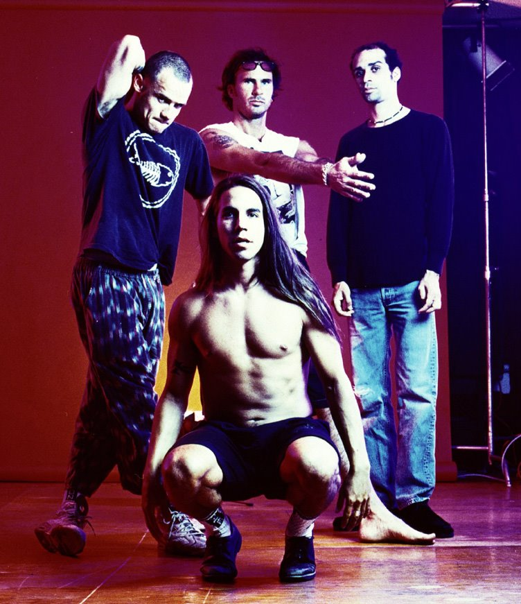 1992 Red Hot Chili Peppers group band
