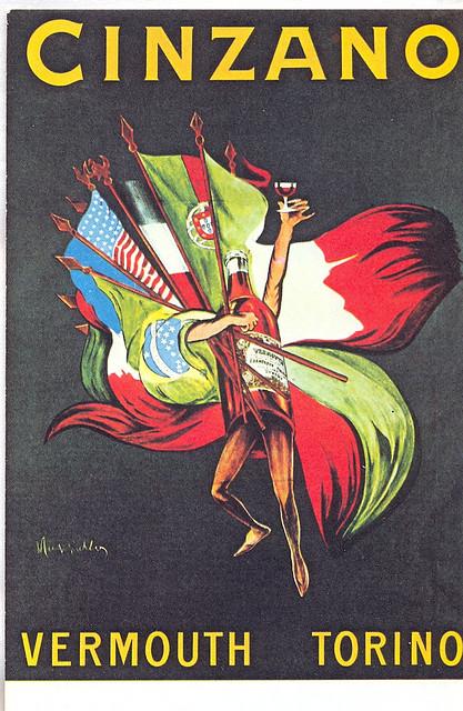 Cinzano manifesto del 1920