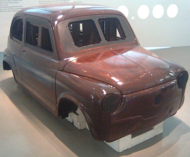 fiat 600 prototipo carrozzeria marquette