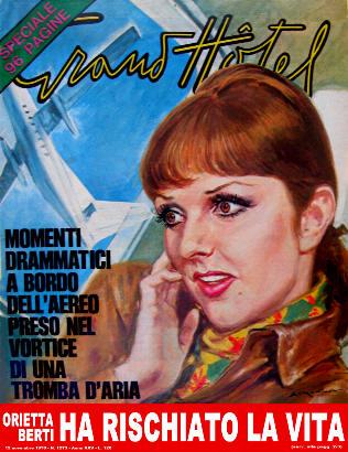 oiretta berti numero rivista copertina 1970