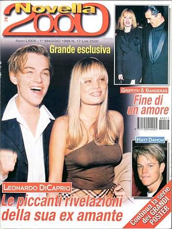 copertina di caprio novella 2000