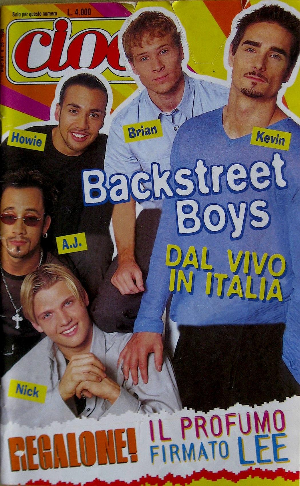 cioè_rivista_anni_90_backstreet_boys_1999