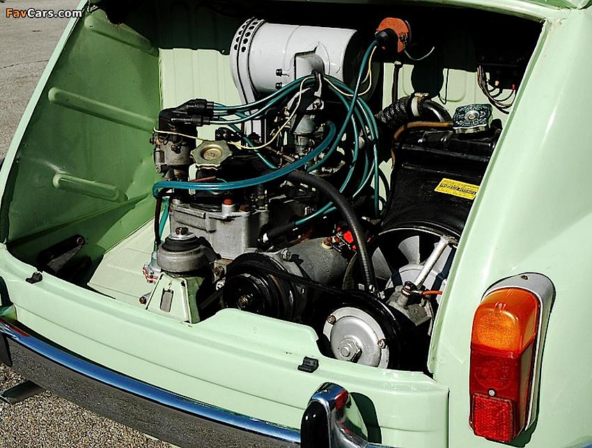 fiat 600 motore