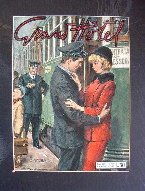 grand hotel rivista copertina del 1962