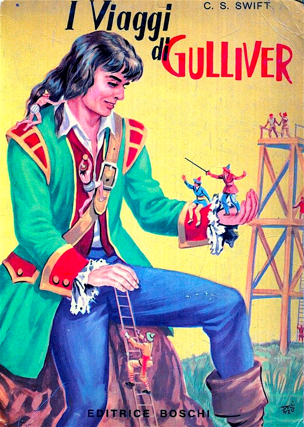 i_viaggi_di_gulliver_edizione_vintage_anni_50