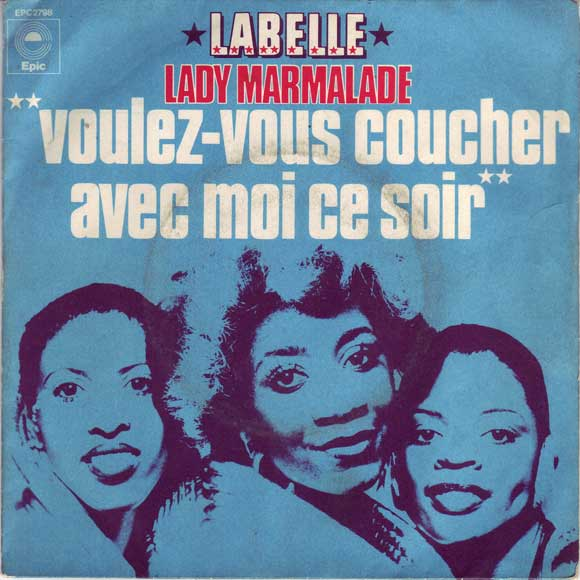 labelle lady marmalade 1975