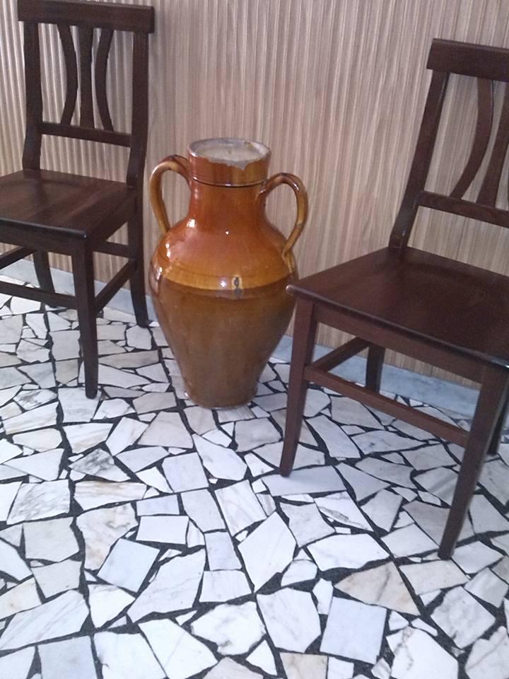 pavimento in graniglia anni 60