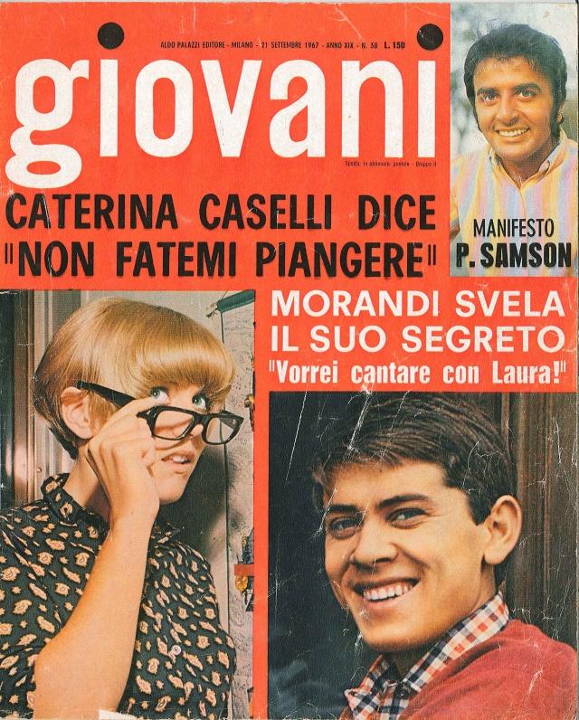 qui giovani 1967 copertina