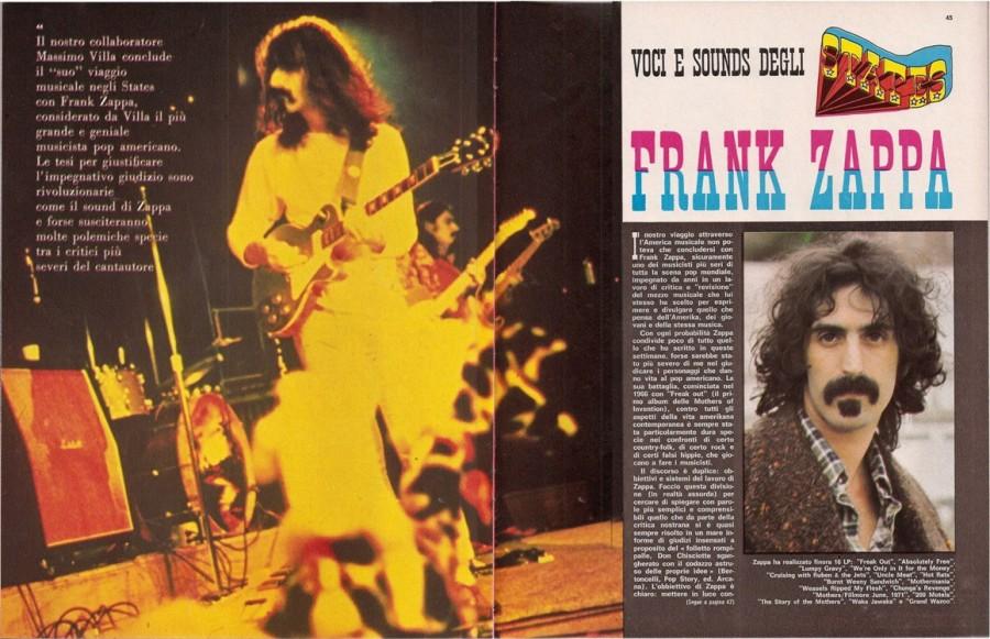 giovani copertina frank zappa poster