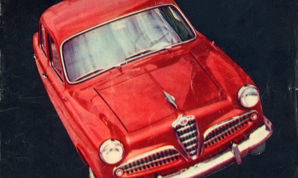 QUATTRORUOTE: la storia dell'auto attraverso le sue COPERTINE – (Anno I – 1956)