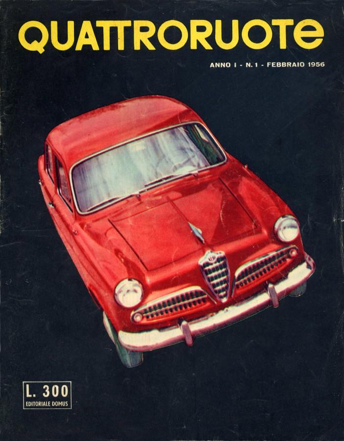 quattroruote primo numero 1956