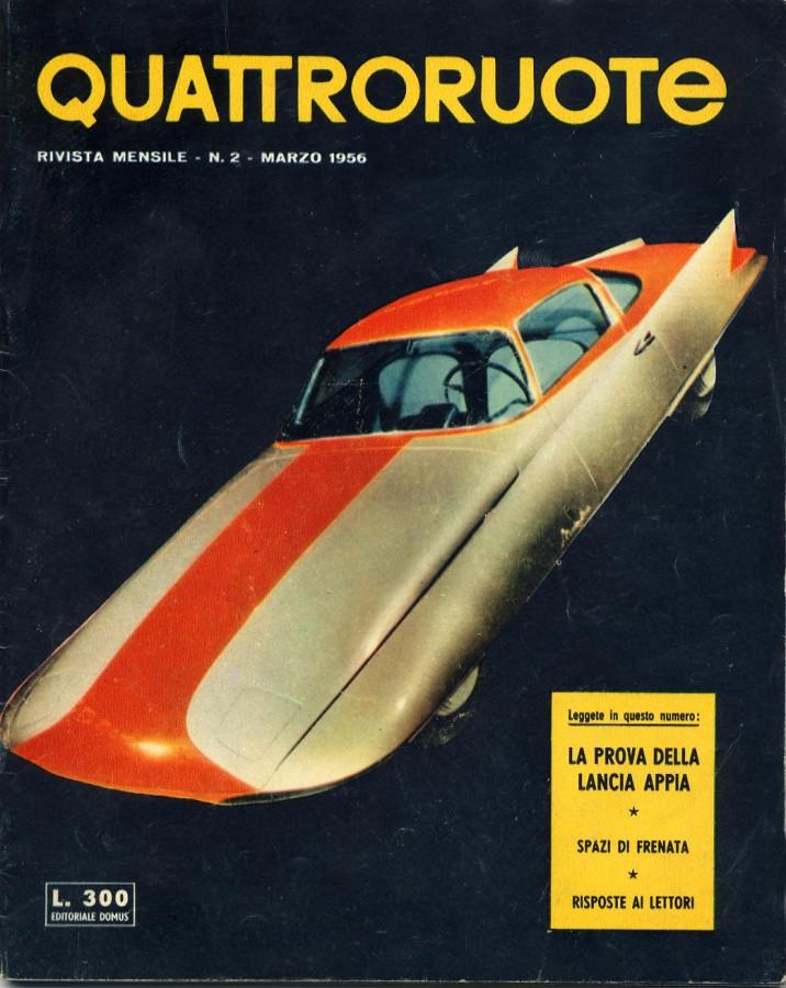 quattroruote numero 2 marzo 1956