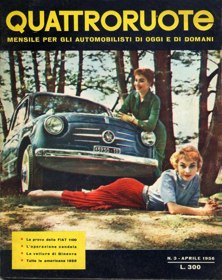 quattroruote numero 3 aprile 1956