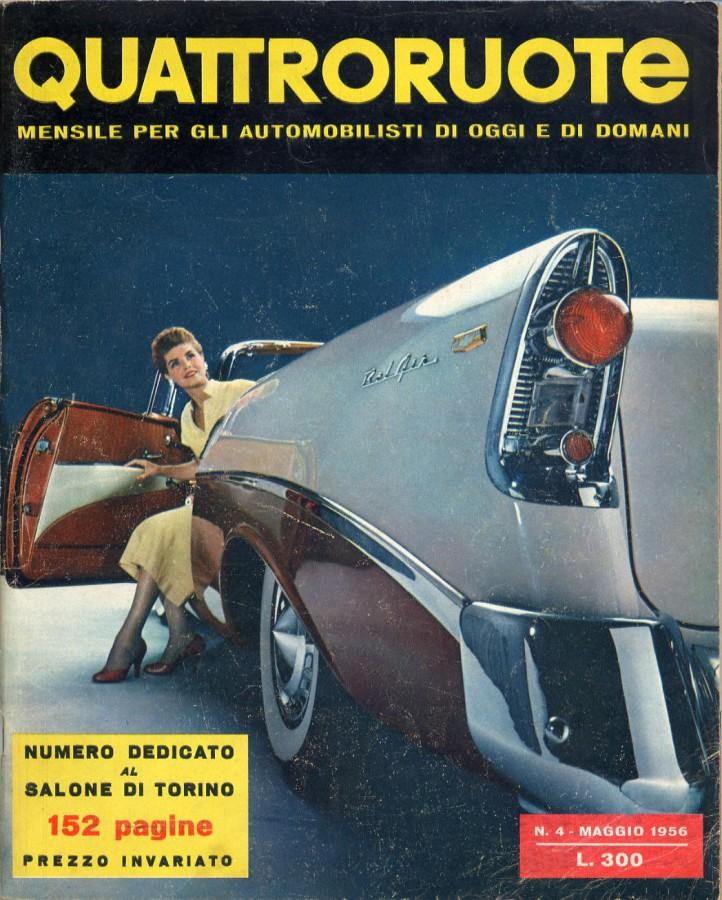 quattroruote maggio 1956