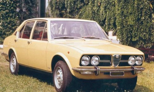 Storia dell'auto: ALFETTA