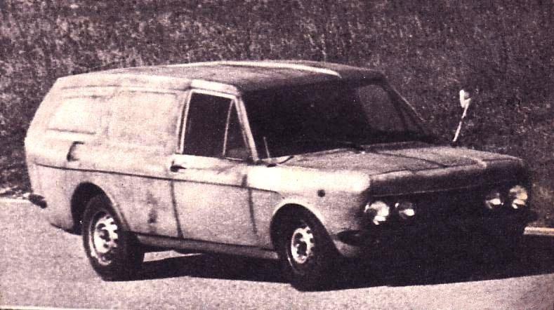 ALFETTA PROTOTIPO 1971