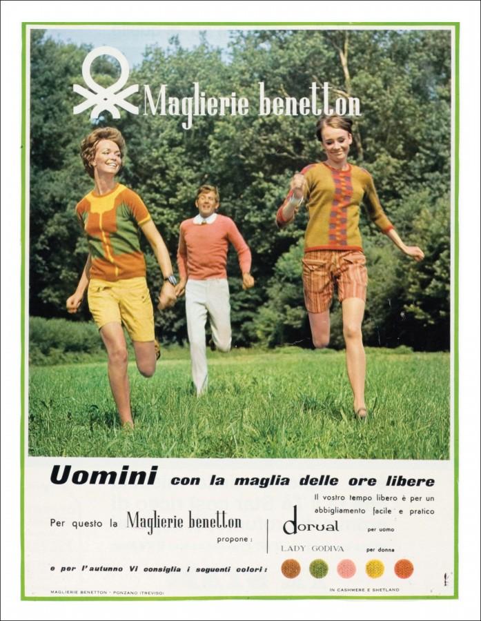 BENETTON PUBBLICITà 1967
