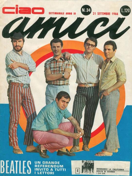 Ciao amici rivista musicali anni 60 qui con curiosit e for Riviste di case