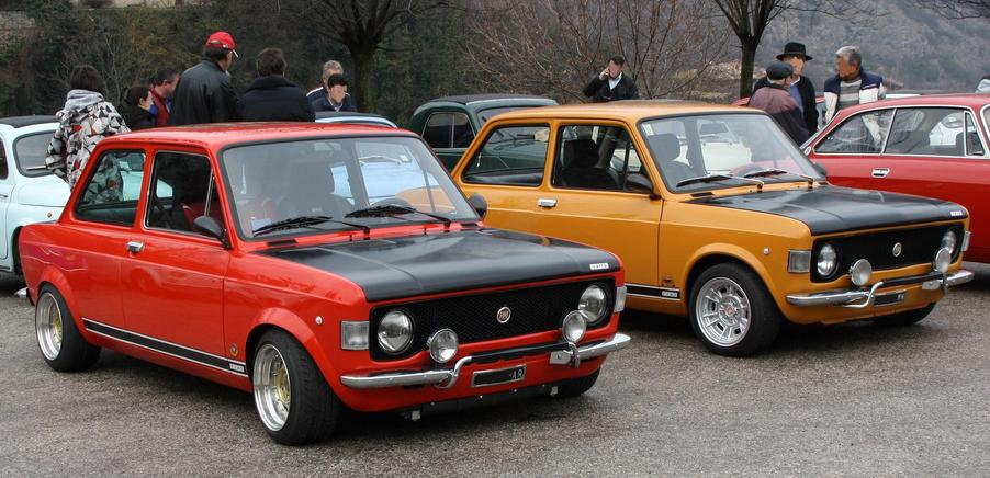 Fiat 128 rally raduno