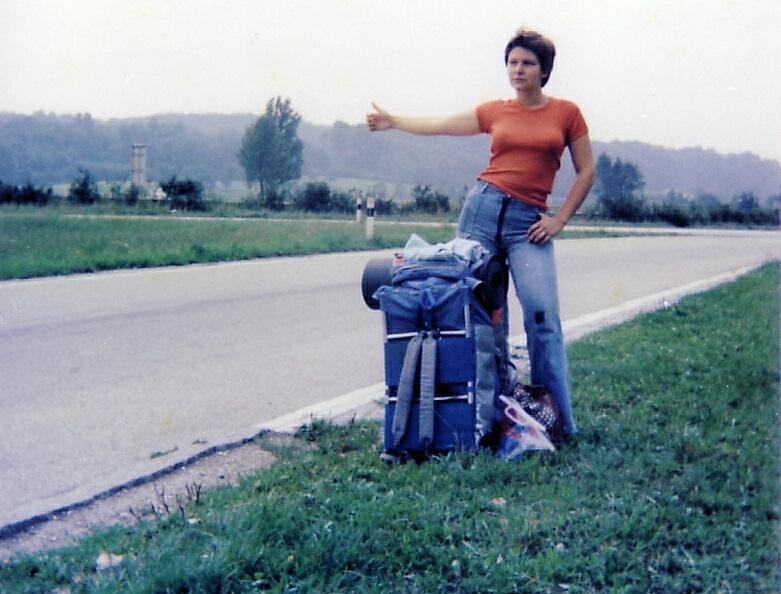 AUTOSTOP anni 70 in giro per l'europa