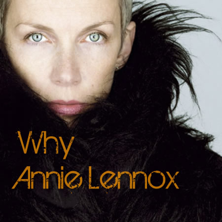 annie lennox why 1992 copertina