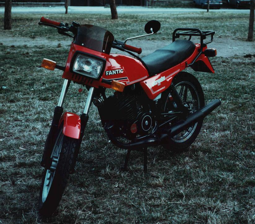 FANTIC MOTOR STRADA 125