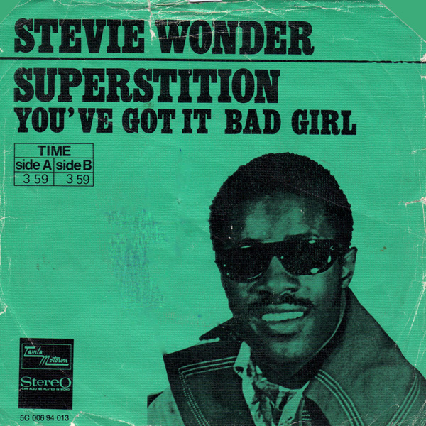 superstition stevie wonder copertina disco 45 giri