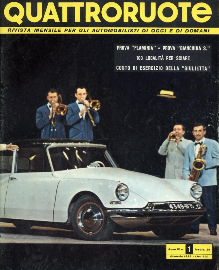 QUATTORUOTE COPERTINE 1959