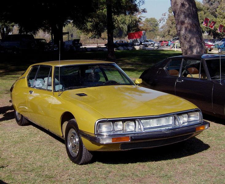 citroen sm maserati 1970